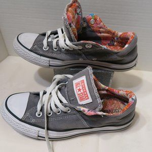 Converse All Star Madison Low Top gray floral